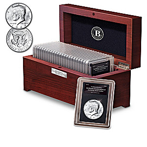 50th Anniversary Complete Kennedy Half Dollar Collection