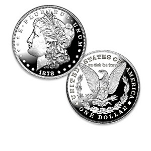 The 100 Greatest U.S. Morgan Varieties Proof Coin Collection