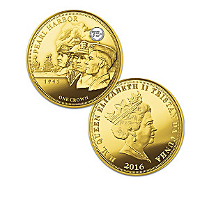 WWII Entrance 75th Anniversary Commemorative Coin Collection