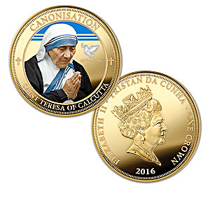 The Mother Teresa Legacy Commemorative Coin Collection