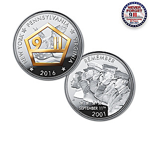 """The Heroes Of 9/11"" 15th Anniversary Silver Proof Coins"
