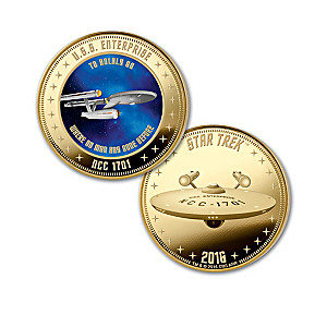 The STAR TREK 50th Anniversary Legacy Proof Coin Collection
