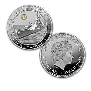 The Greatest American Warships Proof Dollar Coin Collection