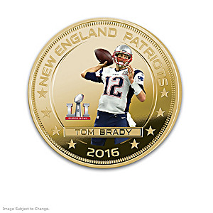 The Tom Brady Super Bowl LI Champion Dollar Coin