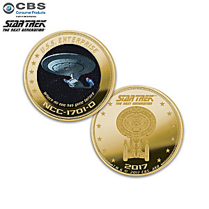 STAR TREK: The Next Generation Proof Coin Collection