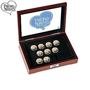 Precious Moments 40th Anniversary Proof Coin Collection