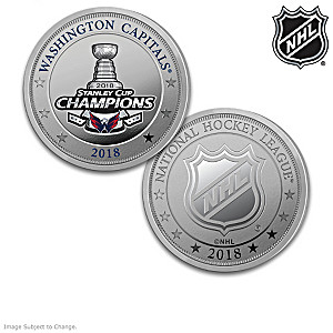 Washington Capitals® 2018 Stanley Cup® Proof Coins