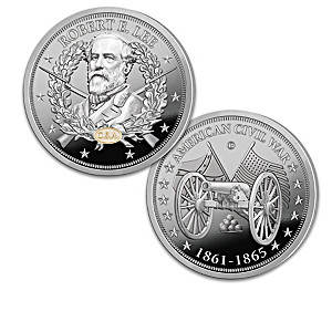 """""""The Greatest Civil War Generals"""" Proof Coin Collection"""