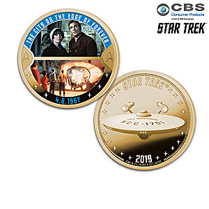 STAR TREK Episodes 50th Anniversary Proof Coin Collection