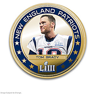 Patriots Super Bowl LIII Champions Legal Tender Dollar Coins