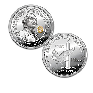 George Washington Legacy Silver-Plated Proof Coin Collection