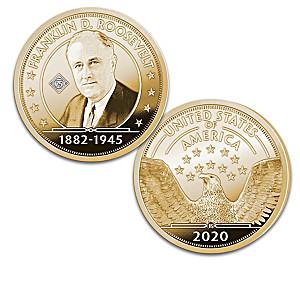 75th Anniversary Franklin D. Roosevelt Proofs With Display