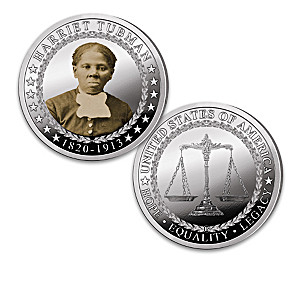 The Black History Silver-Plated Proof Coin Collection