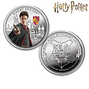 HARRY POTTER Silver-Plated Proof Collection