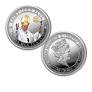 Saint John Paul II 100th Anniversary Proof Coin Collection