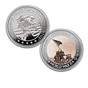 Sands Of Iwo Jima 75th Anniversary Proof Coin