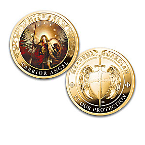 """Heavenly Guardian"" Archangel Art Proof Coin Collection"