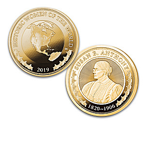 The History's Greatest Women Proof Coin Collection