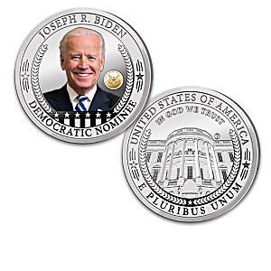 Joseph Biden Silver-Plated Proof Coin Collection