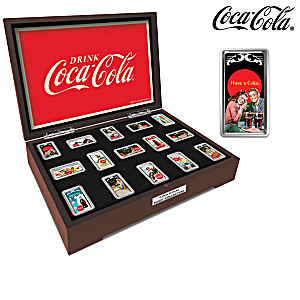COCA-COLA Ingot Collection With Deluxe Display Box