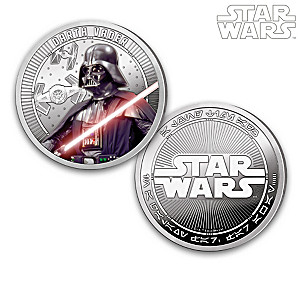 STAR WARS Proof Collection With Darth Vader Proof
