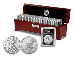 The Complete American Eagle Silver Dollar Coin Collection