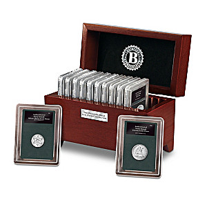 The Complete U.S. Coin Denomination Collection With Display