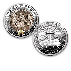 """""""Greatest Stories Of The Bible"""" Proof Coin Collection"""