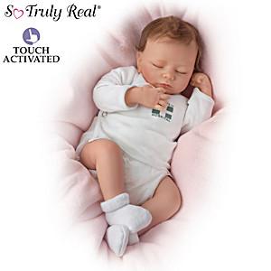 """So Truly Real """"Breathing"""" Lifelike Ashley Baby Doll"""