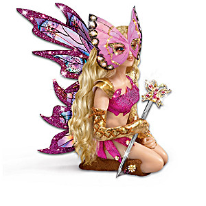 Mystical Fairy Warrior Dolls Celebrate Women's Strengths