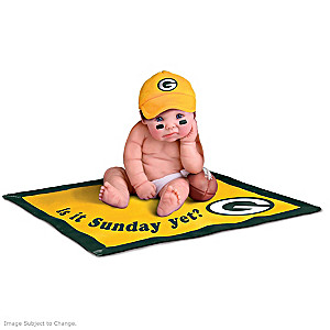 NFL Licensed Green Bay Packers Baby Doll Collection