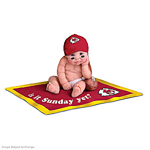 NFL Licensed Kansas City Chiefs #1 Fan Baby Doll Collection