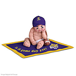 Louisiana State University Tigers Fan Baby Doll Collection