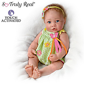 Linda Murray Touch-Activated Lifelike Baby Doll Collection