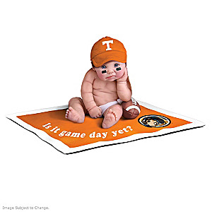 """Tennessee Volunteers Fan"" Commemorative Doll Collection"
