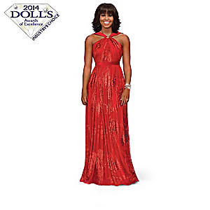 "Michelle Obama ""First Lady Of Fashion"" Doll Collection"