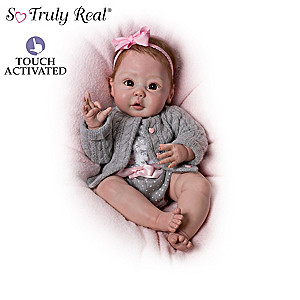 Sherry Miller Cuddly Cuties Interactive Baby Dolls