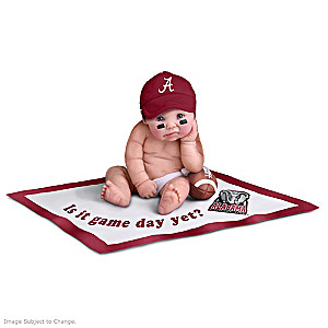 Officially Licensed Alabama Crimson Tide Doll Collection