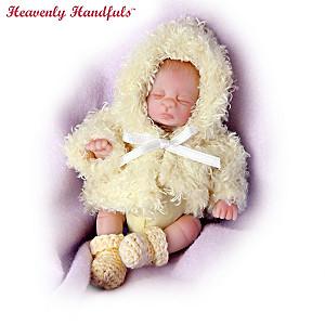 """Heavenly Handfuls 5"""" Poseable Lifelike Baby Dolls"""