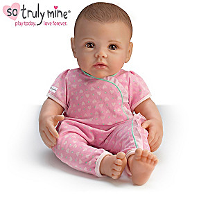So Truly Mine Toy Doll And Accessories Gift Collection