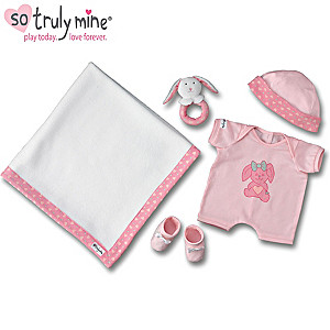 So Truly Mine Toy Doll Accessory Gift Collection