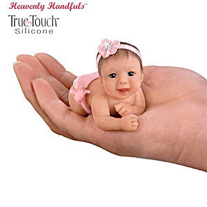 Miniature Silicone Baby Doll Collection By Brenda Scott