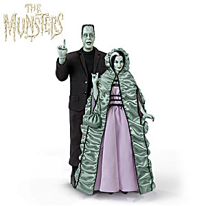 The Munsters Poseable Portrait Figure Collection With Sound