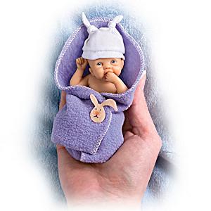 "Sherry Rawn ""Bundle Babies"" Miniature Lifelike Baby Dolls"