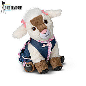 Hold That Pose! Plush Goat And Accessory Collection