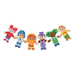 UBU Friendship Plush Toy Doll Collection With Story Cards