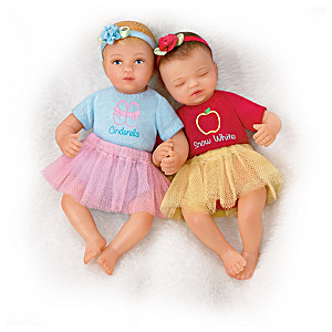 Fairy Tale Princess-Inspired Miniature Baby Doll Collection