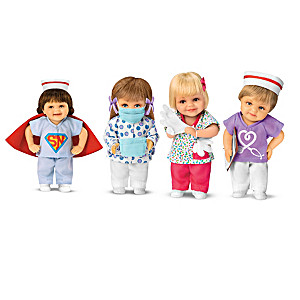 "Cheryl Hill ""Nurses: Frontline Heroes"" Mini Doll Collection"