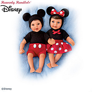 """Disney """"Ultimate Magical Moments"""" Miniature Baby Dolls"""