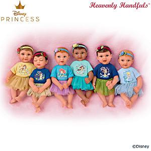 "Disney Princess ""Little Bundles Of Dreams"" Miniature Dolls"